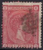 1875 ESPAGNE Obl 157 - Usati