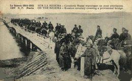 Sur Le Bzoura. Cavalerie Russe Traversant Un Pont Provisoire    WWICOLLECTION - Russie