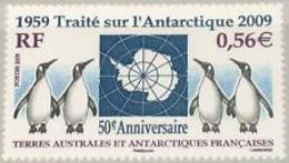 T A A F 2009    Faune    Cat Yt N °    551      N** MNH - French Southern And Antarctic Territories (TAAF)