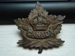 Cap Badge CANADA WW1 14-18 - 1914-18
