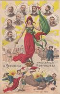 Portugal - Proclamação Da Republica -5-10- 1910 Circulou Para Lisboa - Lisboa