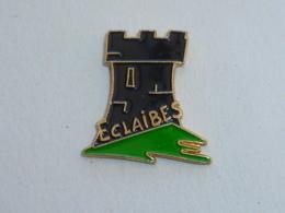 Pin's TOUR, ECLAIBES - Villes