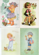 4 CP - Enfants   (118543) - Scènes & Paysages