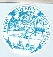Autocollant  Sur Le Rugby  UNION SPORTIVE  ARGELESIENNE - Stickers