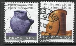 Schweiz 2018, Mi Nr  2536-37, Satz, Gestempelt - Switzerland