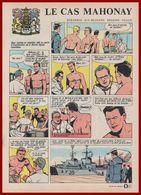 Le Cas Mahonay, Inapte Au Service Pour Mal De Mer. Seconde Guerre Mondiale. Marine Canadienne. Bande Dessinée De 1965. - Vieux Papiers