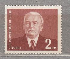 GERMANY DDR 1953 W.Pieck Mi 343 Sc 121 MNH Postfrisch Neuf (**) #16029 - Neufs