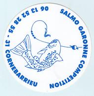 Autocollant   SALMO GARONNE  COMPETITION - 31 CORNEBARRIEU - Adesivi