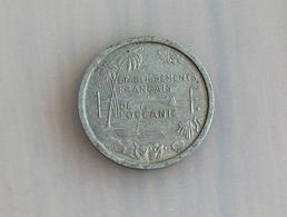 Etablissements Français De L'Océanie 1 Franc 1949 - Other - Oceania