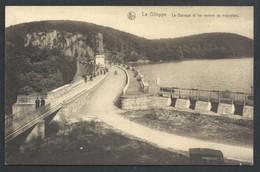 +++ CPA - LA GILEPPE - Le Barrage Et Les Vannes Du Trop Plein - Nels   // - Gileppe (Barrage)