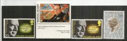 Hommage à Winston Churchill.  4 Timbres Neufs ** îles Marshall, Pitcairn & Monaco - Sir Winston Churchill