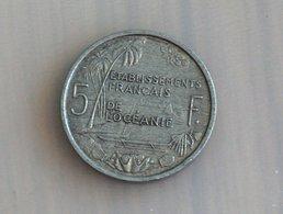 Etablissements Français De L'Océanie 5 Francs 1952 - Other - Oceania