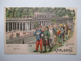 KARLSBAD      (     GRUSS  AUS  .....)                TTB - Germany