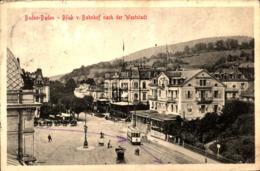 Baden-Baden Blick Nach Der Weststadt Mit Straßenbahn Gl 1911 - Baden-Baden