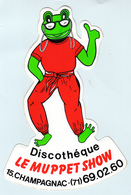 Autocollant    Discothèque LE MUPPET SHOW - Stickers