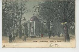 SUISSE - BERN - BIENNE - Promenade Du Pasquart Et Musée - BE Berne
