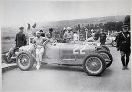 Hélene Delangle (Hellé Nice) Sur Alfa Romeo Monza Au Grand Prix De Comminges A St Gaudens 1935 -  15x10cms PHOTO - Grand Prix / F1