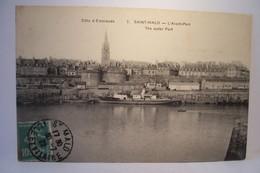 SAINT-MALO  -   L'Avant-Port - Saint Malo