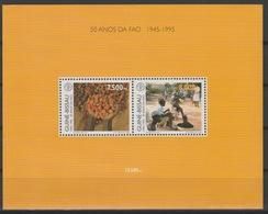 Guiné-Bissau Guinea Guinée Bissau 1995 Mi. Bl. 295 50 Anos Da FAO 1945 UN United Nations UNO ONU - Contro La Fame