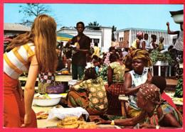 ZAÏRE- Marché De KINSHASA - Belle Animation 2 SCANS *** - Kinshasa - Leopoldville