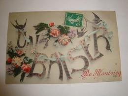 03 CPA MONTVICQ 1908 UN BAISER DE MONTVICQ - France