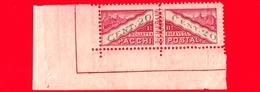 Nuovo - MNH - SAN MARINO - 1945 - Pacchi Postali - 20 C. - Colli Di San Marino - Colis Postaux
