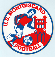Autocollant    U.S. MONTGISCARD  FOOTBALL - Adesivi