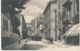 CPA SUISSE SION Rue De Lausanne - VS Valais