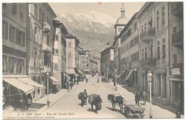 CPA SUISSE SION Rue Du Grand Pont - VS Valais