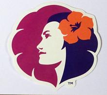 Hawaiian Airlines | STICKER | Avion / Airplane / Flugzeug - Stickers