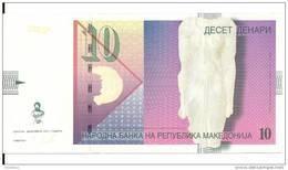 MACEDOINE 10 DENARI 2011 UNC P 14 I - Macedonia