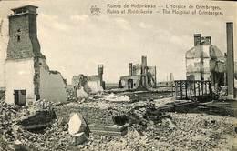025 456- CPA - Belgique - Ruines De Middelkerke - L'Hospice De Grimbergen - Middelkerke