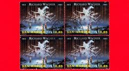 SAN MARINO - Usato -  2013 - 200 Anni Della Nascita Di Richard Wagner - 0,85 - Tetralogia Dell'anello Del Nibelun - Saint-Marin