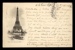 Paris - Tour Eiffel, Used 1897 - Tour Eiffel