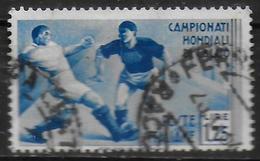ITALIE   N° 342   Oblitere    Cup  1934  Fussball  Soccer   Football - Fußball-Weltmeisterschaft