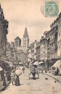 LISIEUX   LA GRANDE RUE - Lisieux