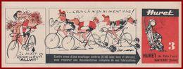 Dérailleur Allvit Huret. Vélo. Huet 60 Av Felix Faure Nanterre (Seine). 1965. - Publicités