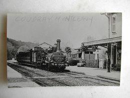 PHOTO - Train - Coudray Montceaux - Trains
