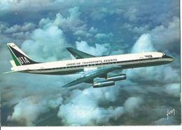 CP AVION DOUGLAS DC 8 62  UNION DE TRANSPORT AERIENS UTA  F-BNLE    EDITION YVON - 1946-....: Ere Moderne