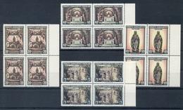 TURKEY * 1962 * Complete Set 4 Stamps In Blocks Of 4 * MNH** Tourism - Mi.No 1846-1849 - 1921-... République