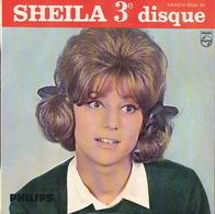 SHEILA - EP - 45T - Disque Vinyle - Pendant Les Vacances - 432931 - Discos De Vinilo
