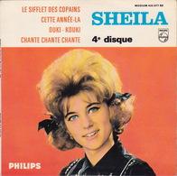 SHEILA - EP - 45T - Disque Vinyle - Le Sifflet Des Copains - 432977 - Discos De Vinilo