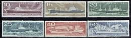 DDR / GDR - Mi-Nr 1693/1698 Postfrisch / MNH ** (A1219) - Schiffe