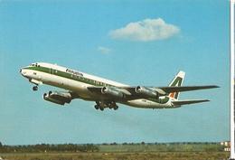 CP AVION DOUGLAS DC 8 62 ALITALIA  I-DIWV - 1946-....: Era Moderna
