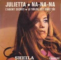 SHEILA - EP - 45T - Disque Vinyle - Julietta - 6210004 - Discos De Vinilo