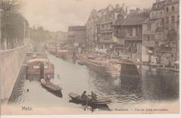 57 - METZ - VUE DU PONT DES ROCHES - NELS SERIE 104 N° 118 - Metz