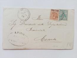 1906 - Busta Del Sindaco Di Piedimonte S.Germano (Frosinone) - Storia Postale