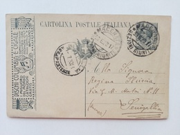 1920 - Cartolina Postale Pubblicitaria - Dischi Columbia E Cigale - 1900-44 Vittorio Emanuele III