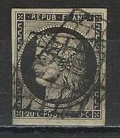 Frankreich Yv 3, Mi 3 O - 1849-1850 Ceres
