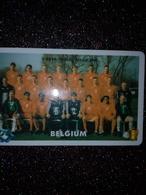 BELGIQUE PREPAID WORLD CHANGE FOOTBALL TEAM BELGIUM FOOT ...... 500F UT - Sport